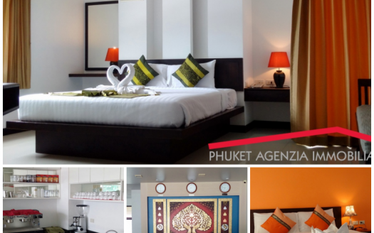 hotel 25 camere con ristorante in gestione Patong Phuket